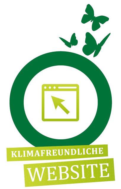 Klmafreundliche-Website